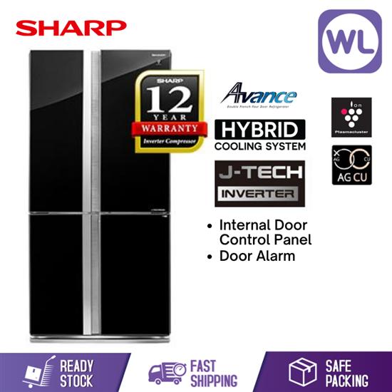 Picture of SHARP AVANCE REFRIGERATOR SJF959VGK (750L/ BLACK)