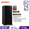 Picture of SHARP PELICAN REFRIGERATOR SJP78MFGK (670L/ BLACK)