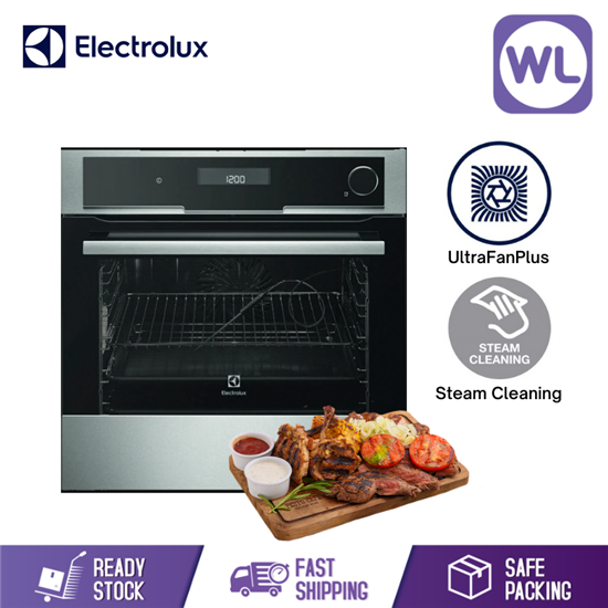 Picture of ELECTROLUX BUILT-IN COMBISTEAM DELUXE OVEN EOB8857AAX (70L)