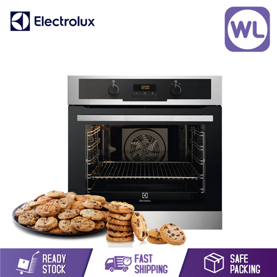Picture of ELECTROLUX BUILT-IN PYROLYTIC CLEANING OVEN EOC5400AOX (72L)