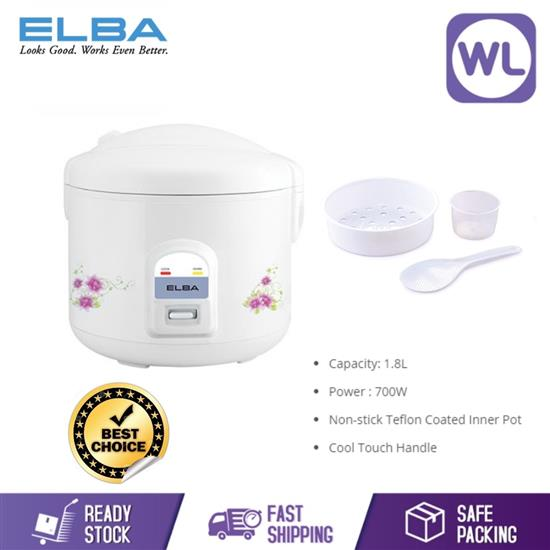 Picture of ELBA JAR RICE COOKER ERC-E1831(WH)