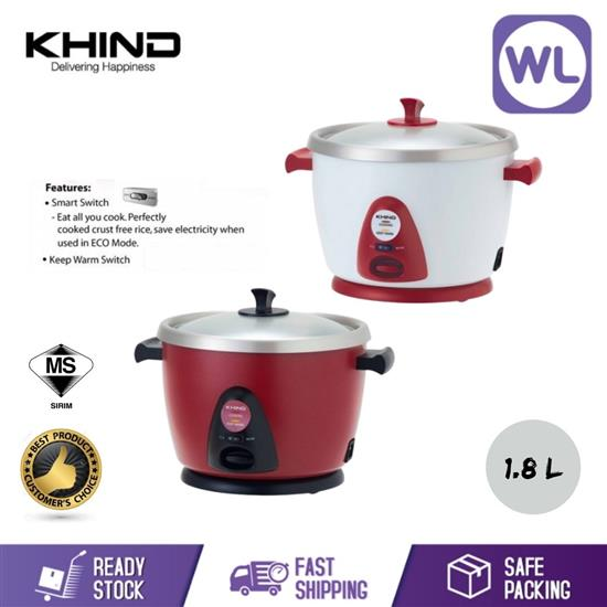 Picture of KHIND ANSHIN RICE COOKER RC118M (SMART SWITCH)