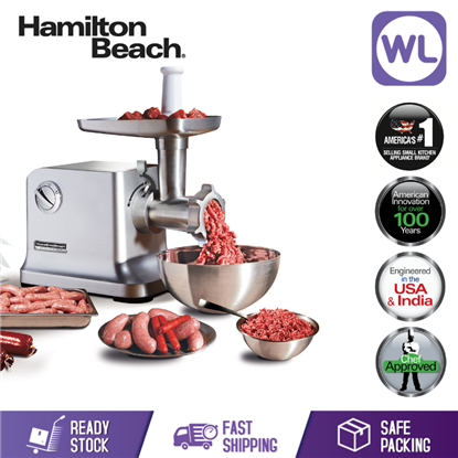 Picture of Hamilton Beach Electric Meat Grinder & Sausage Stuffer 78403