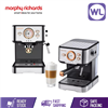 Picture of MORPHY RICHARDS 3 IN 1 EXPRESSO COFFEE MACHINE +MILK BUBBLE FROTHING 172EM1