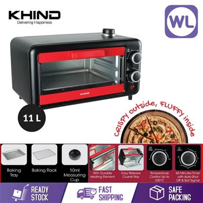 Picture of KHIND 11L ELECTRIC OVEN WITH SPECIAL STEAM FUNCTION OT11H