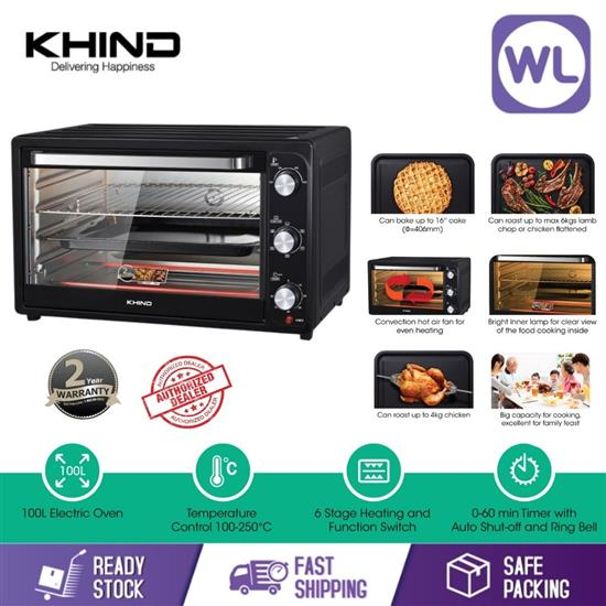 Picture of KHIND 100L ELECTRIC OVEN OT100E