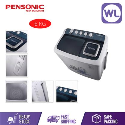 Picture of PENSONIC 6kg SEMI AUTO WASHER PWS-6004