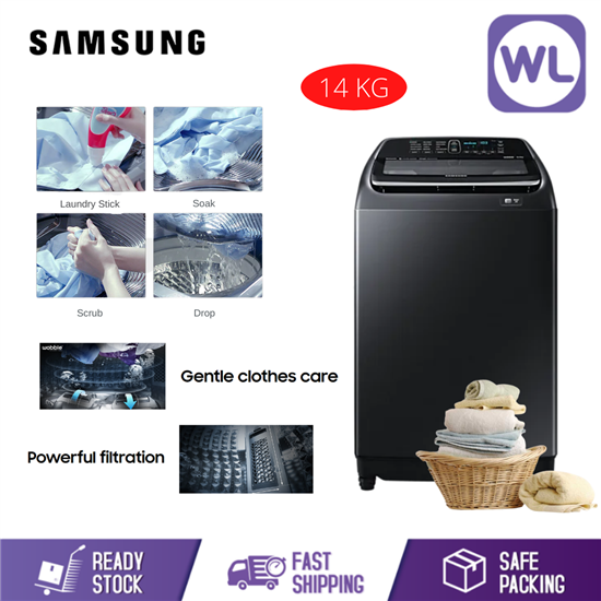 Picture of SAMSUNG 14kg TOP LOAD WASHER WA14R6380BV/FQ