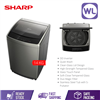 Picture of SHARP 14kg FULL AUTO TOP LOAD WASHER ESY1419