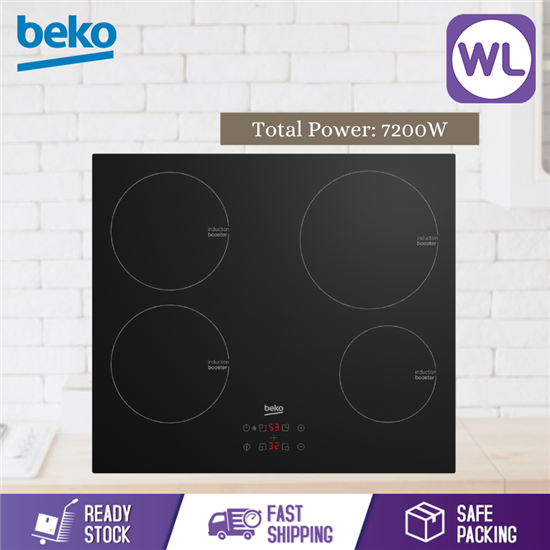 Picture of BEKO BUILT-IN HOB HII 64400 AT (Induction, 60 cm)