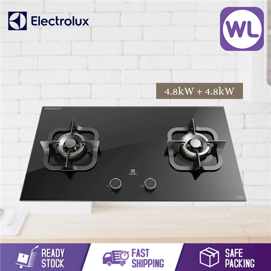 Picture of ELECTROLUX 90CM POTENZA GAS HOB WITH 2 BURNERS EGT9229CK