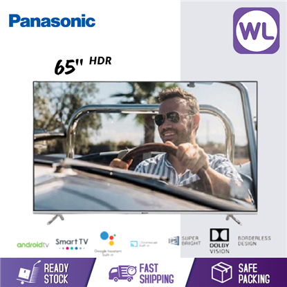 Picture of PANASONIC 65'' GX650 4K HDR ANDROID TV TH-65GX650K
