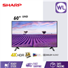 Picture of SHARP 60'' AQUOS 4K UHD TV 4TC60CH1X