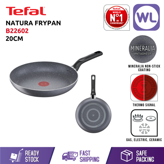 Picture of TEFAL COOKWARE NATURA FRYPAN (20CM)