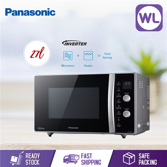 Picture of PANASONIC 27L MICROWAVE OVEN NN-CD565B