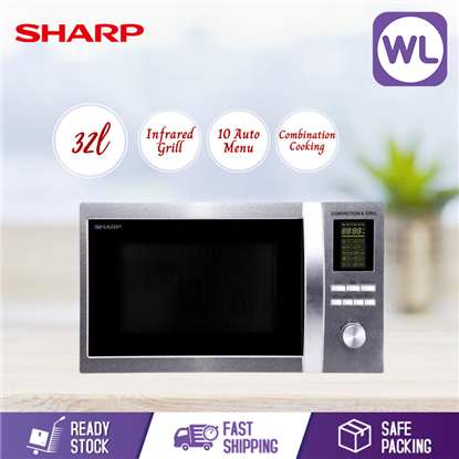 Picture of SHARP 32L MICROWAVE OVEN WITH CONVECTION R854AST