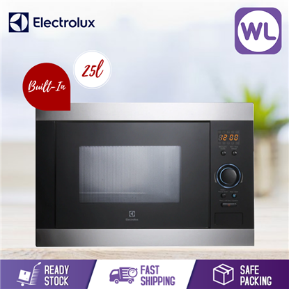 Picture of ELECTROLUX 25L BUILT-IN MICROWAVE WITH GRILL EMS2540X