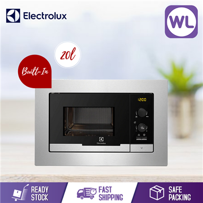 Picture of ELECTROLUX 20L BUILT-IN MICROWAVE WITH GRILL EMS2085X
