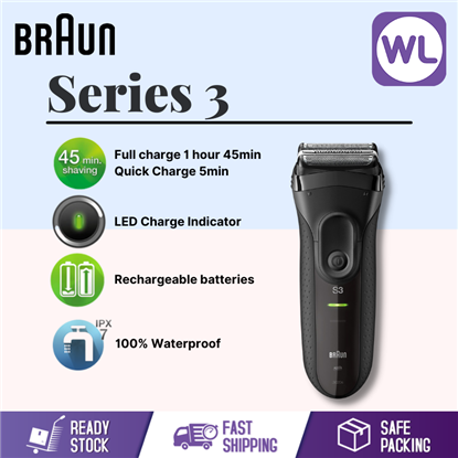 Picture of BRAUN SERIES 3 PROSKIN SHAVER 3020S