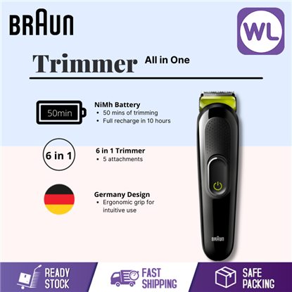Picture of BRAUN ALL IN ONE TRIMMER MGK3221