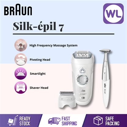 Picture of BRAUN SILK-EPIL 7 WET & DRY CORDLESS EPILATOR SE7561