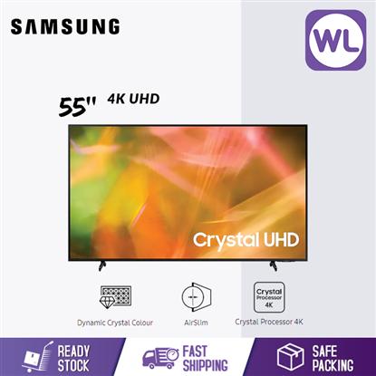 Picture of SAMSUNG 55'' 4K UHD SMART TV UA55AU8000KXXM