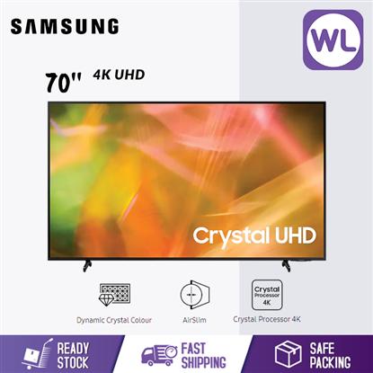 Picture of SAMSUNG 70'' 4K UHD SMART TV UA70AU8000KXXM