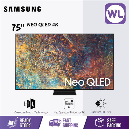 Picture of SAMSUNG 75'' NEO QLED 4K SMART TV QA75QN90AAKXXM