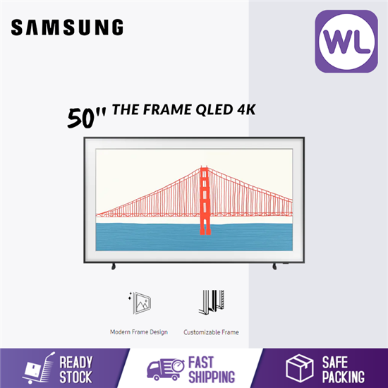 Picture of SAMSUNG 50'' The Frame QLED 4K SMART LIFESTYLE TV QA50LS03AAKXXM