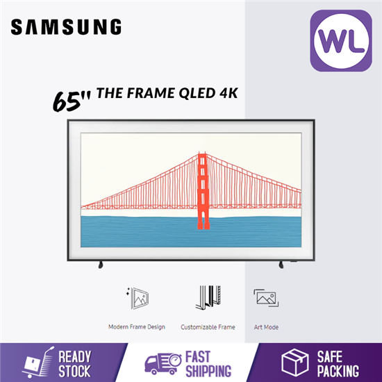 Picture of SAMSUNG 65'' The Frame QLED 4K SMART LIFESTYLE TV QA65LS03AAKXXM