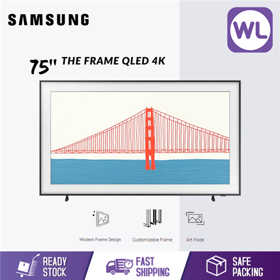 Picture of SAMSUNG 75'' The Frame QLED 4K SMART LIFESTYLE TV QA75LS03AAKXXM