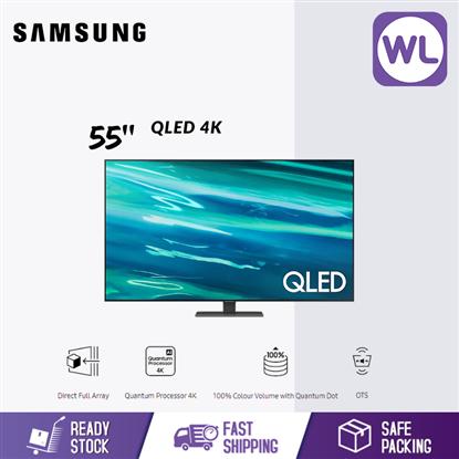 Picture of SAMSUNG 55'' QLED 4K SMART TV QA55Q80AAKXXM