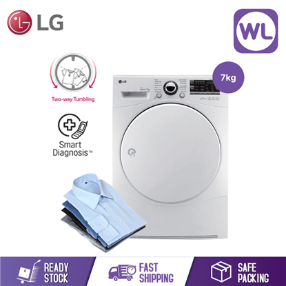 Picture of LG 7kg DUCTLESS DRYER with Sensor Dry TD-C7066W