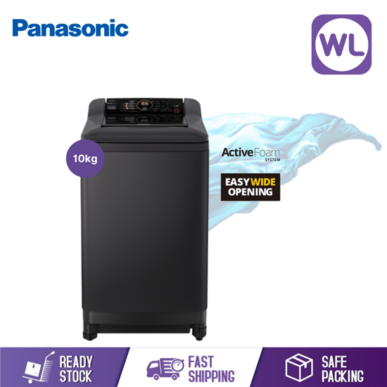 Picture of PANASONIC 10kg TOP LOAD WASHER NA-F100A4BRT