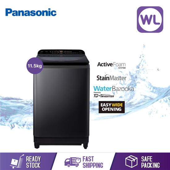 Picture of PANASONIC 11.5kg TOP LOAD WASHER NA-FD11AR1BT