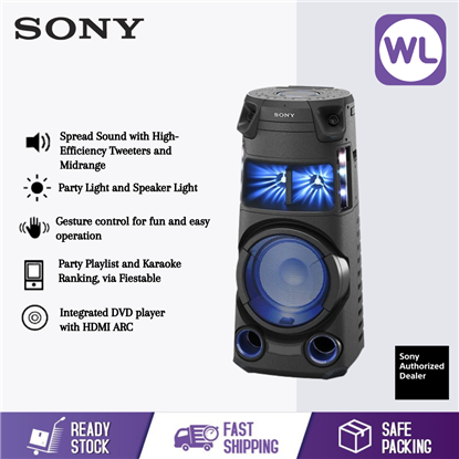 Picture of SONY HOME AUDIO SYSTEM MHC-V43D