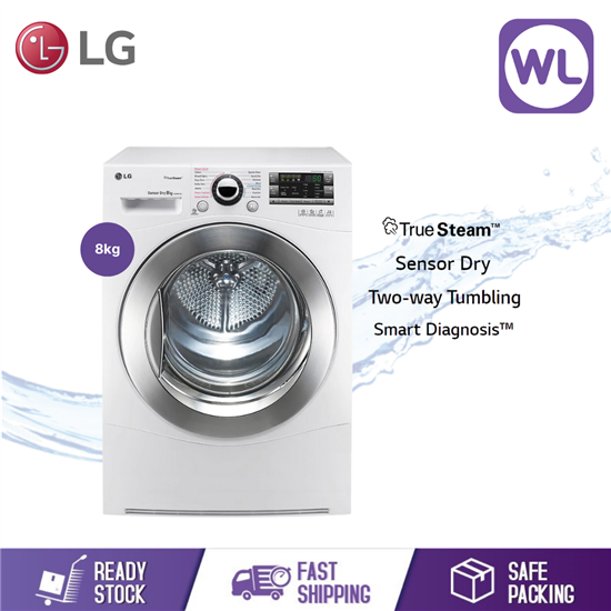 Picture of LG 8kg DRYER TD-C8066WS