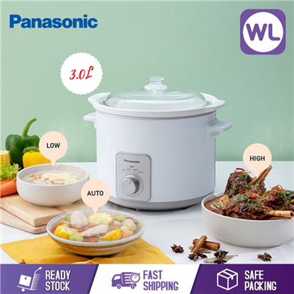 Picture of PANASONIC 3.0L SLOW COOKER NF-N30ASSL