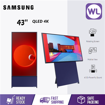 Picture of SAMSUNG 43'' THE SERO QLED 4K SMART LIFESTYLE TV QA43LS05TAKXXM