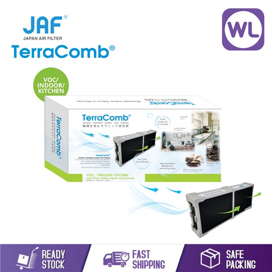 Picture of TerraComb® CERAMIC ACTIVATED CARBON FILTER JTCH-PKK-26111344 (Indoor/ Kitchen)