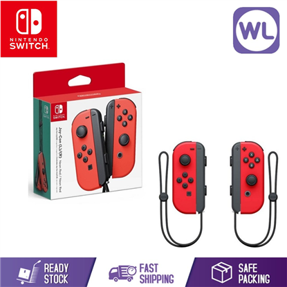 Picture of NINTENDO SWITCH JOY CON CONTROLLER ORIGINAL SET (RED / RED)