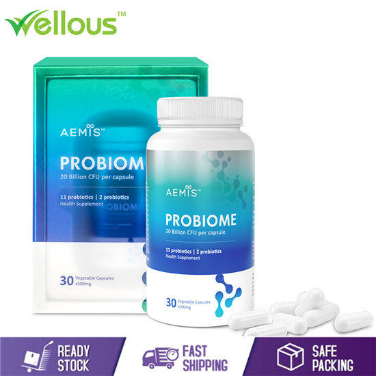 Picture of WELLOUS PROBIOME PROBIOTICS FOR HEALTHY GUT