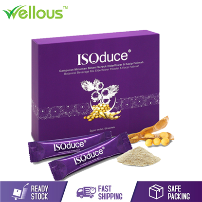 Picture of WELLOUS ISODUCE THE BENEFITS OF SOY ISOFLAVONES