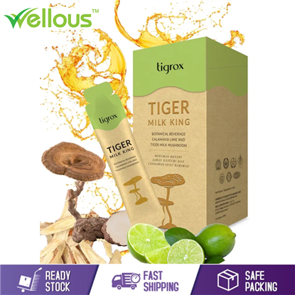 Picture of WELLOUS TIGER MILK KING (MANGO) ULTIMATE REFRESHMENT AND LUNGS PROTECTION