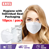 Picture of INDIVIDUAL PACK KOREA KN95 4 PLY DISPOSABLE FACE MASK (WHITE COLOR) 10PCS