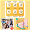 Picture of  4 PLY KIDS (0-12Y) INDIVIDUAL PACK KOREA KN95 4D DISPOSABLE FACE MASK (PURPLE CARTOON) 10PCS
