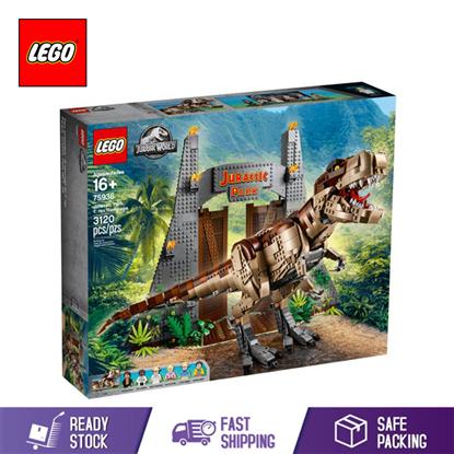 Picture of LEGO JURASSIC WORLD JURASSIC PARK: T. REX RAMPAGE 75936