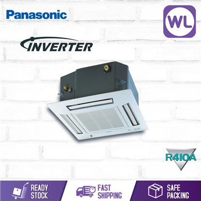 Picture of [R410A] PANASONIC MINI CASSETTE INVERTER 1.5HP CS-S12SB4HW-1 / CU-S12MBZ