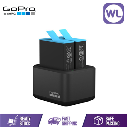 Picture of GOPRO DUAL BATTERY CHARGER WITH BATTERY HERO9 - BLACK