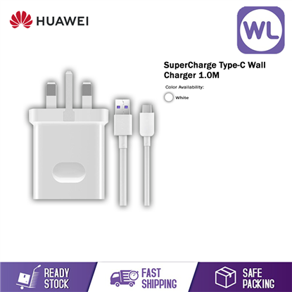 Picture of Huawei SuperCharge Wall Charger (Type-C Cable)